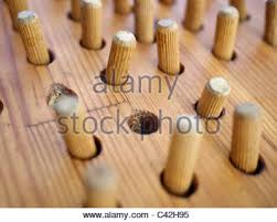 Wooden Peg Solitaire Game Peg solitaire game Stock Photo 100 Alamy 8