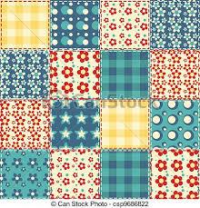Quilt seamless pattern 3. Quilt seamless pattern. vector... vector ... & Quilt Seamless Pattern 3 Vector Adamdwight.com