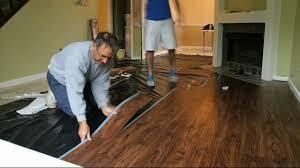 Youtube How To Install Bathroom Tile Floor Wood Floors - Installing bathroom tile floor