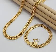 fashion necklace bracelet jewelry set