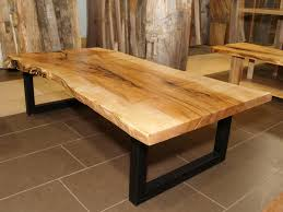 sugar maple coffee table