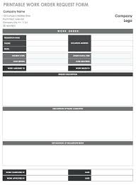 Time Off Request Form Pdf Request Form Template Printable Work Order Request Form