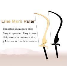 Tattoo Microblading Line Mark Ruler Bow And Arrow Thrush Artifact Eyebrow Planning Tool Tattoo Eyebrow Eyebrow Stencil Ruler