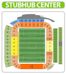 52 Prototypical Stubhub Center Concert Seating