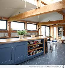 blue painted kitchen cabinets. Bespoke Shaker-style Cabinetry Blue Painted Kitchen Cabinets N