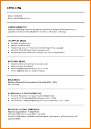 5 Fresh Graduate Resume Template Actor Resumed