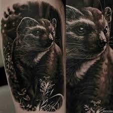 татуировка грызуна тату на голени у парня добавлено иван вишневский