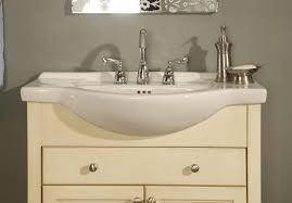 Bathroom Vanity Depth Narrow Depth Bathroom Vanity White Tags Stunning Narrow Depth