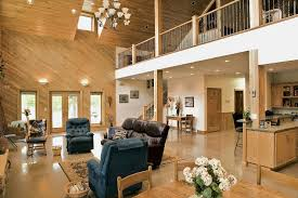 Pole Barn Home's Interior