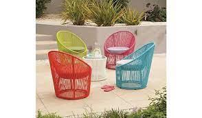 primo egg bistro chair blue garden