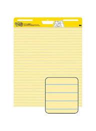 Easel Flip Chart Paper Shop Post It 4 Piece Super Sticky Easel Flip Chart Paper