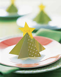 christmas placecard templates tree place card martha stewart
