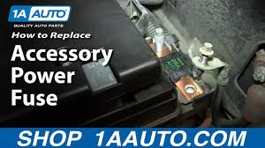 install replace main accessory power fuse if your power windows install replace main accessory power fuse if your power windows doors mirrors etc are not working