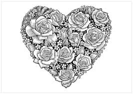 Small Picture Abstract Coloring Pages Hearts Coloring Pages