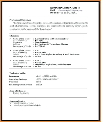 Examples Of Resume Title Resume Names Title Examples For Fresher For