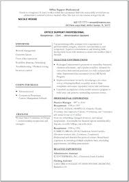 Resume Template For Word 2010 It Resume Template Word Templates ...