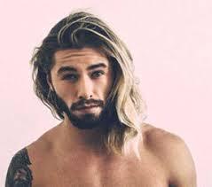 long thick hair men