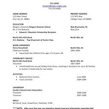 First Job Cv Sample Ender Realtypark Co Throughout Student Job