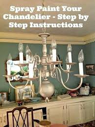spray paint chandelier how to modernize a traditional brass chandelier brass chandelier chandeliers and traditional spray