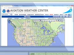 How To Read An Aviation Routine Weather Report Metar 13 Steps