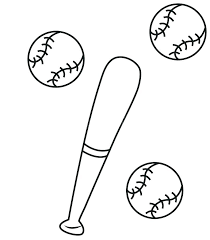 Baseball Coloring Sheet Predragterziccom