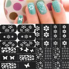 How To Make Your Own Nail Art Stencil - Nail Art Ideas
