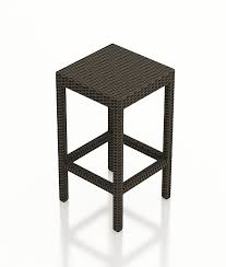 Forever Patio Hampton Wicker Backless Barstool  WickercomOutdoor Wicker Bar Furniture
