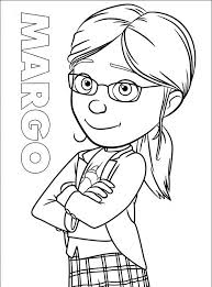 Despicable Me Coloring Pages Kevin
