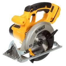 dewalt skil saw. dewalt 18-volt nicd cordless 6-1/2 in. (165 mm) circular saw (tool-only)-dc390b - the home depot dewalt skil