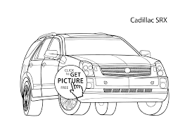 Small Picture car Cadillac SRX coloring page cool car printable free