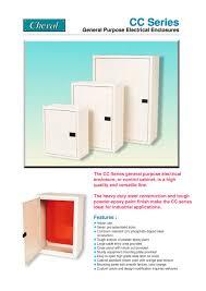 Epoxy Cabinet Paint Cc Series General Purpose Electrical Enclosures Cheval