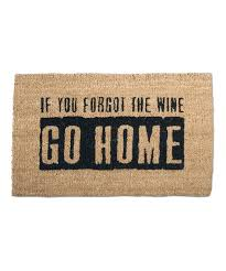 tag If You Forgot the Wine Go Home Coir Doormat | zulily