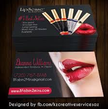 Senegence Business Cards Style 2 Kz Creative Services Online