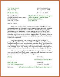 Correct Format Of Letter Images - Letter Samples Format
