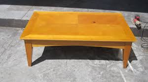 painted coffee table ideaspainted yellow coffee table  coffeetablesmartincom  Tables And