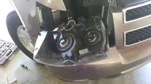 07 Tahoe Daytime Running Light Bulb 2007 2014 Gm Chevrolet Tahoe Headlight Removed To Change Bulbs Turn Signal Drl Side Marker
