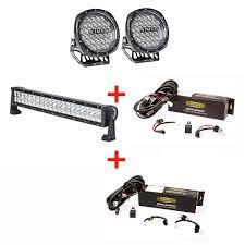 illuminator round led driving lights pair led light bar illuminator 7 round led driving lights pair 22 led light bar