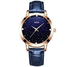 Quartz Watch <b>Womens</b> Waterproof Lady Watch <b>Creative</b> Starlight ...
