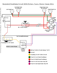 daniel stern lighting consultancy and H4 Halogen Headlight Wiring Diagram Motorcycle Headlight Wiring Diagram