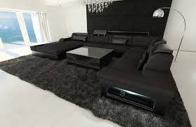 black fabric sectional sofas. Unique Fabric Sectional Fabric Sofa Orlando XL Black Mineva 14 On Black Sofas I
