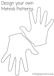 Printable Hand Template For Kids Tirevi Fontanacountryinn Com