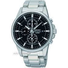 "men s seiko alarm chronograph watch snaf03p1 watch shop comâ""¢ mens seiko alarm chronograph watch snaf03p1"
