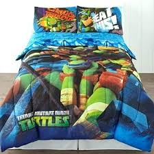 Ninja Turtle Bed Set Teenage Mutant Comforter Turtles Heroes ...