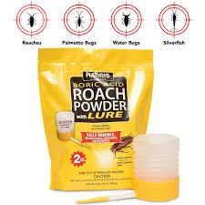 Amazoncom Harris Boric Acid Roach And Silverfish Killer Powder W
