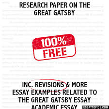 research paper on the great gatsby essay research paper on the great gatsby