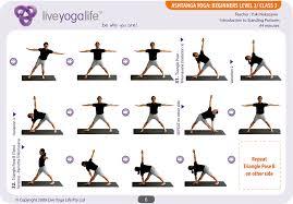 Ashtanga Poses Chart Ashtanga Yoga Beginners Class 3 Live Yoga Life