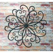 beatufil wrought iron wall decoration