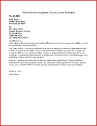 Inspirational Administrative Cover Letter For Resume Npfg Online