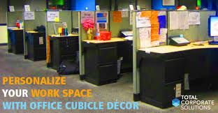 cubicle office decor. utilizing images and picture frames in a cubicle enhances sense of balance between work office decor