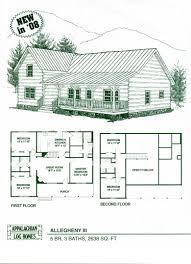 perfect decorating 3 bedroom log cabin plans floor 2 bath